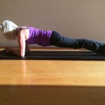 Plank pilates exercise performed by Jackie