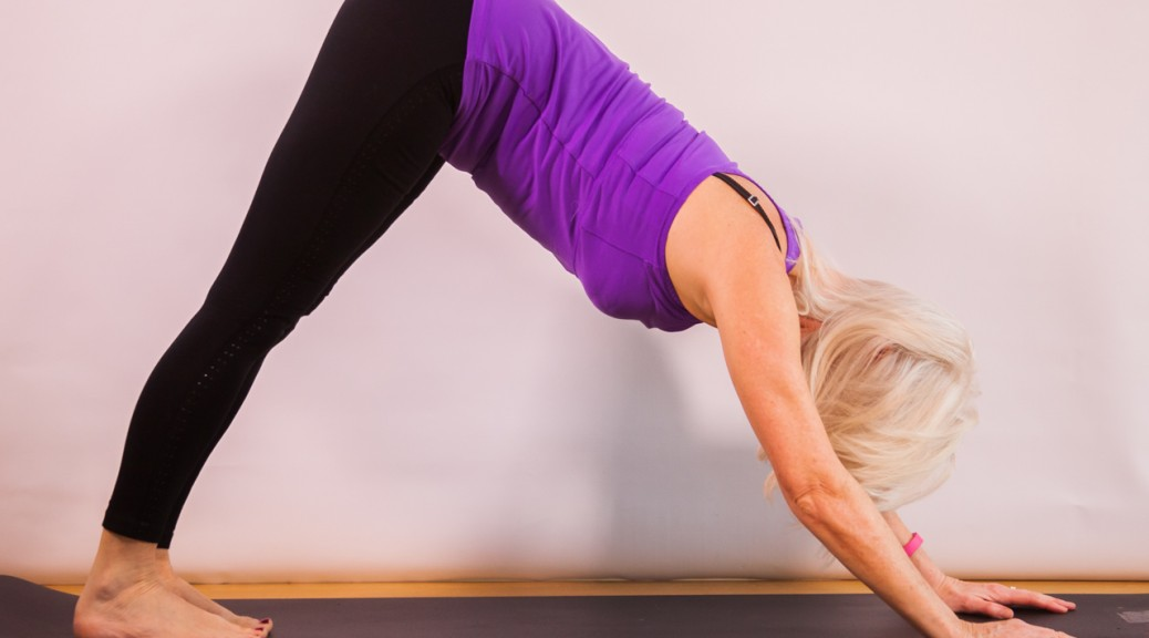Downward facing Dog with Jackie Brealey