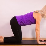 Four point kneeling with leg extension with Jackie Brealey