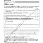 Personal Details & Health Assessment Form